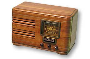 how to get a station on a 1930s radio